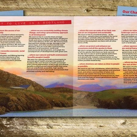 4 page A4 brochure
