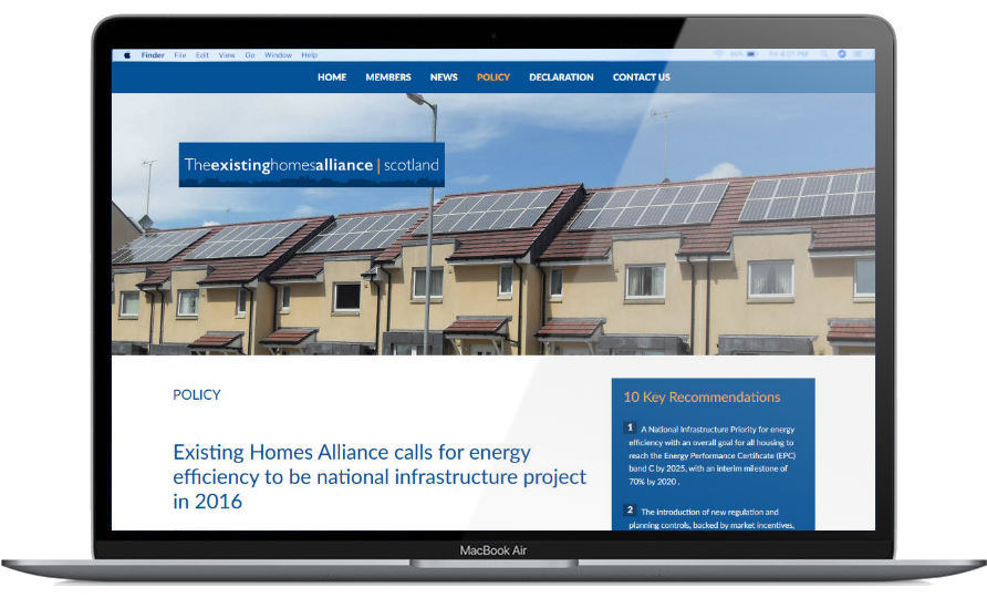 Existing Homes Alliance Scotland