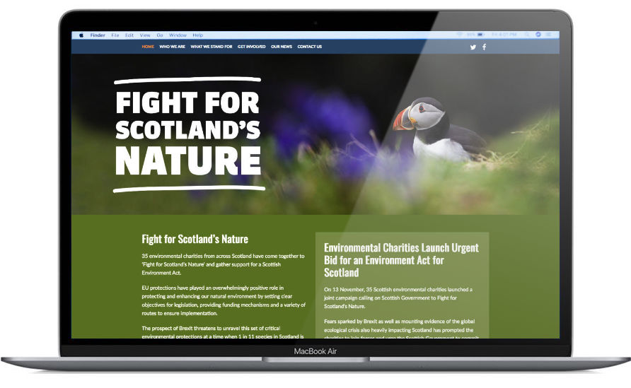 Fight for Scotland's Nature