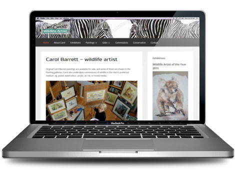 Carol Barrett - wildlife artist