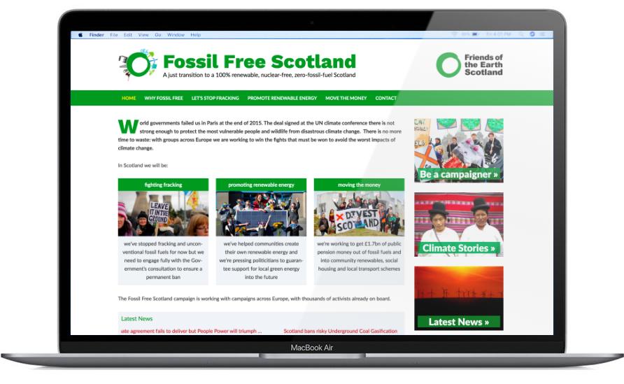 Fossil Free Scotland