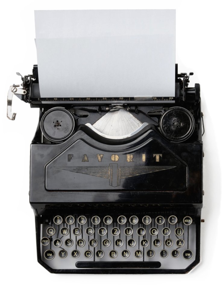 typewriter vintage